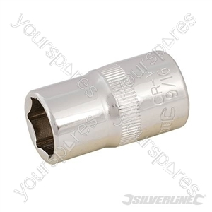 "Socket 1/2"" Drive 6pt Imperial - 9/16"""