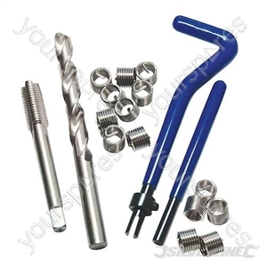 Thread Repair Kit Helicoil Type - M6 x 1.0mm