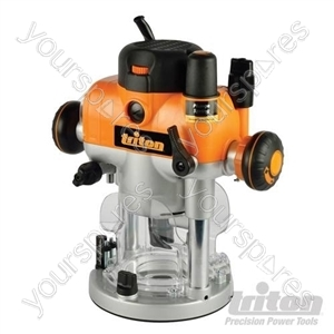 2400W Dual Mode Precision Plunge Router - TRA001