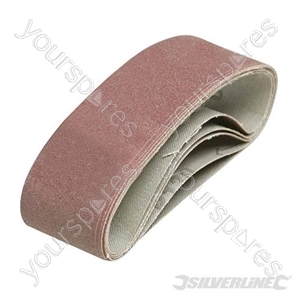 Sanding Belts 40 x 305mm 5pk - 120 Grit