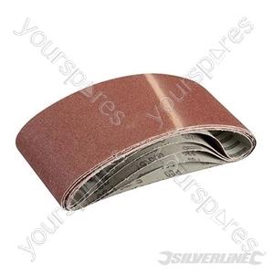 Sanding Belts 100 x 610mm 5pk - 80 Grit