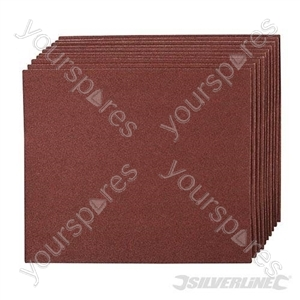 Emery Cloth Sheets 10pk - 60 Grit