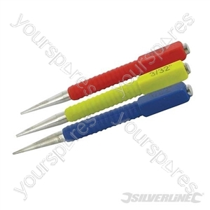 Nail Punch Set 3pce - 3pce