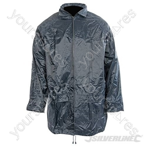 "Lightweight PVC Jacket - L 136cm (54"")"