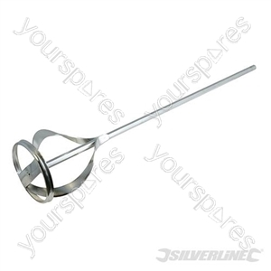 Mixing Paddle Zinc Plated - 120 x 735mm