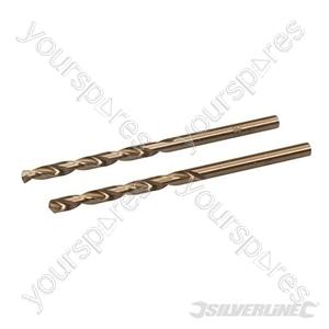 Cobalt Drill Bits 2pk - 3.5mm