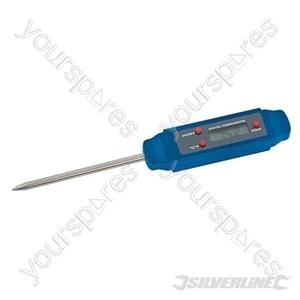Pocket Digital Probe Thermometer - -40°C to +250°C