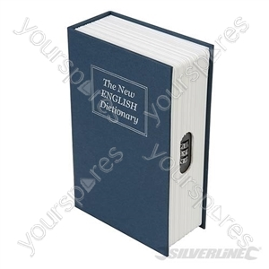 3-Digit Combination Book Safe Box - 180 x 115 x 55mm