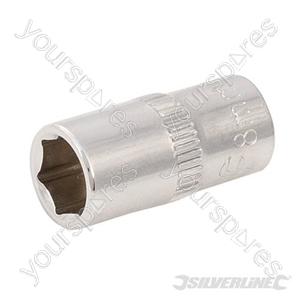 "Socket 1/4"" Drive 6pt Metric - 8mm"