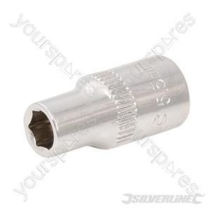 "Socket 1/4"" Drive 6pt Metric - 5.5mm"