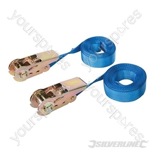 Endless Ratchet Tie-Down Strap 2pk - Rated 250kg Capacity 500kg