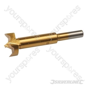 Titanium-Coated Forstner Bit - 25mm