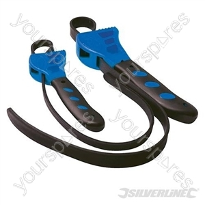 Rubber Strap Wrenches Set 2pce - 500 & 600mm
