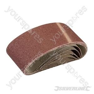 Sanding Belts 60 x 400mm 5pk - 60 Grit