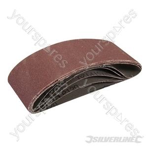 Sanding Belts 60 x 400mm 5pk - 120 Grit