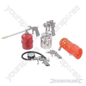 Air Tools & Compressor Accessories Kit 5pce - 5pce
