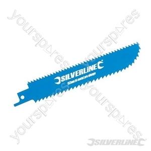 Double-Sided Recip Saw Blade for Wood 3pk - HCS 6tpi & BiM 8tpi