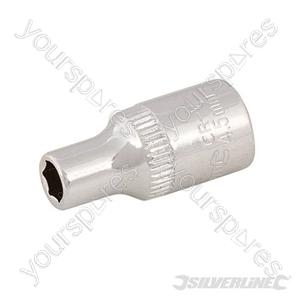 "Socket 1/4"" Drive 6pt Metric - 4.5mm"