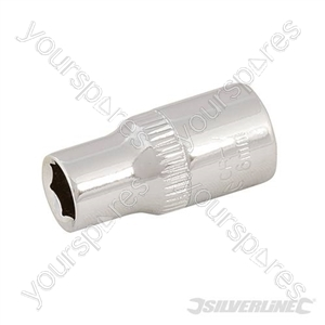 "Socket 1/4"" Drive 6pt Metric - 6mm"
