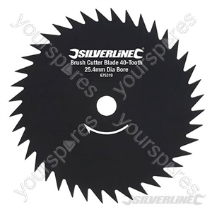 Brush Cutter Blade 40-Tooth - 25.4mm Bore