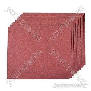 Aluminium Oxide Hand Sheets 10pk - 120 Grit