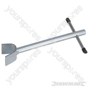 Mini Crutch Stopcock Key - 222mm