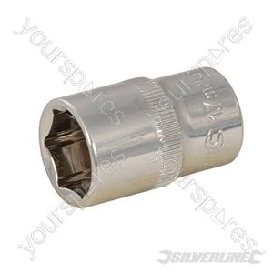 "Socket 1/2"" Drive 6pt Metric - 17mm"