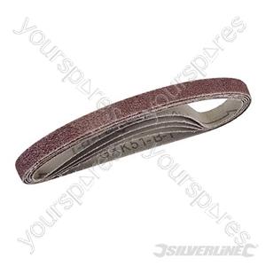 Sanding Belts 10 x 330mm 5pk - 40 Grit