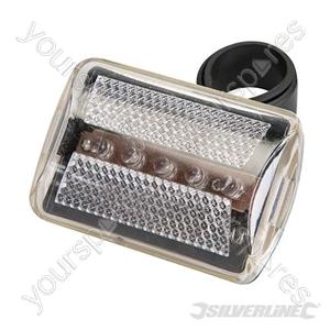 5 LED Bike Lamp - Clear