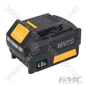 18V Li-Ion Batteries - GMC18V40 4.0Ah