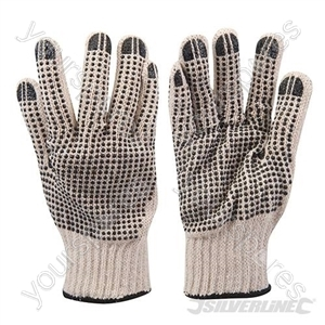 Double-Sided Dot Gloves - Large