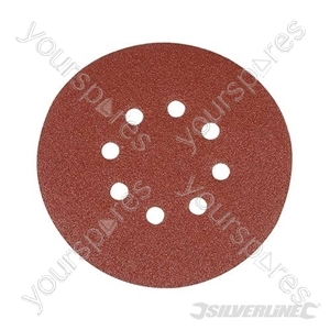 Hook & Loop Discs Punched 150mm 10pk - 150mm 80 Grit