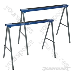 Metal Saw Horse Twin Pack - 125kg