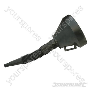 Plastic Funnel with Spout - 140mm