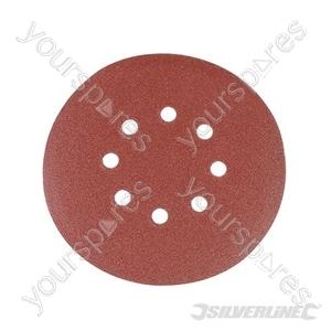 Hook & Loop Discs Punched 150mm 10pk - 150mm 120 Grit