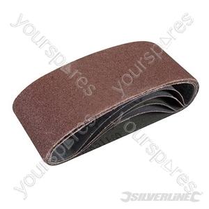 Sanding Belts 65 x 410mm 5pk - 60 Grit