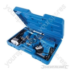 Electric Soldering Kit 9pce - 100W / 30W