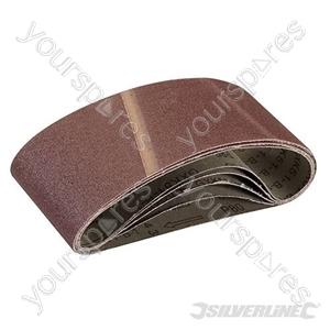 Sanding Belts 75 x 457mm 5pk - 80 Grit
