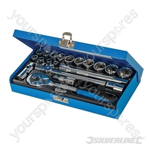 "Socket Wrench Set 3/8"" Drive Metric 20pce - 20pce"