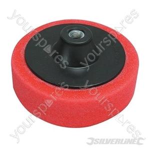 M14 Foam Polishing Head - 150mm Ultra-Soft Red