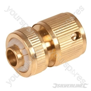 """Quick Connector Brass - 1/2"""" Female"""
