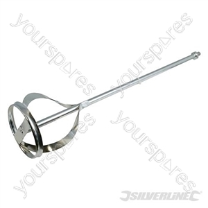 Mixing Paddle Zinc Plated - 600 x 120mm