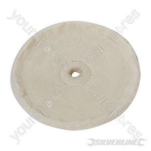 Loose-Leaf Cotton Buffing Wheel - 150mm