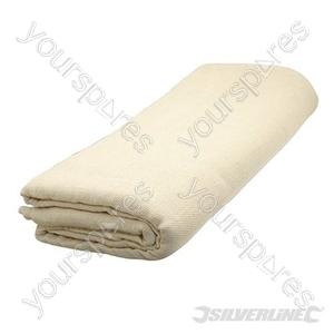 Poly Twill Dust Sheet - 3.6 x 2.7m (12' x 9') Approx