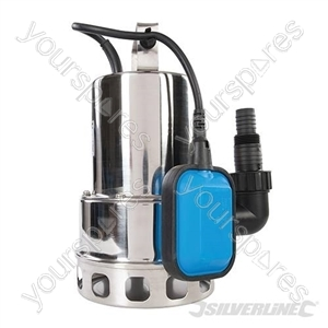 550W Dirty Water Pump Stainless Steel - 10,500Ltr / hr