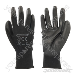 Black Palm Gloves - Medium
