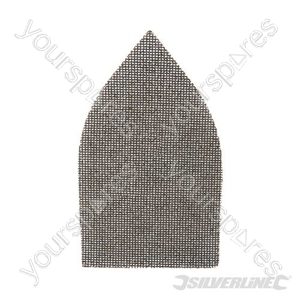 Hook & Loop Mesh Triangle Sheets 175 x 105mm 10pk - 80 Grit
