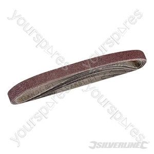 Sanding Belts 13 x 457mm 5pk - 40 Grit