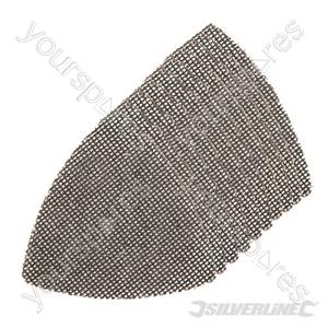 Hook & Loop Mesh Triangle Sheets 105mm 10pk - 4 x 40G, 4 x 80G, 2 x 120G