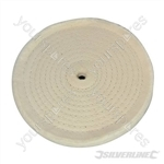 Spiral-Stitched Cotton Buffing Wheel - 150mm